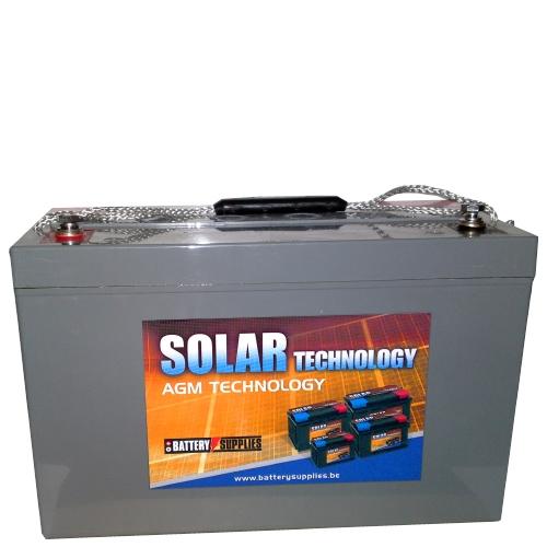 Μπαταρία 12V 100Ah μολύβδου solar βαθιάς εκφόρτισης DAB12-100Sol Dyno Europe