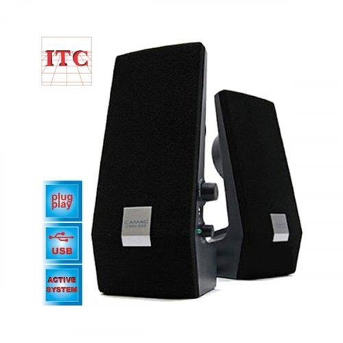 Ηχεία mini H/Y με USB 8W μαύρα HY-218 ITC