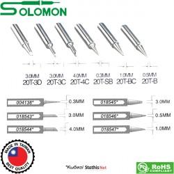 Μύτη κολλητηρίου 0.3mm 20T-SB για το κολλητήρι SL-20CMC Solomon