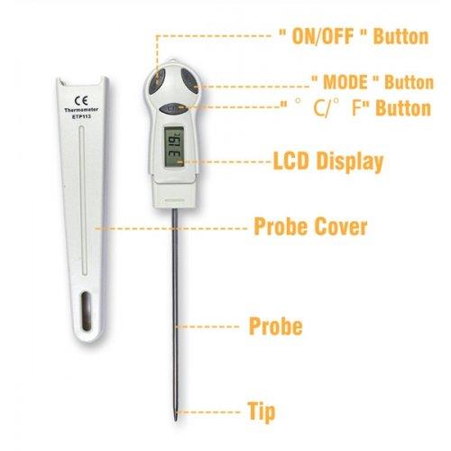 Θερμόμετρο ψηφιακό ETP-113 E-SUN