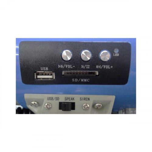 Τηλεβόας 60W USB/SD MEGA 60USB LTC
