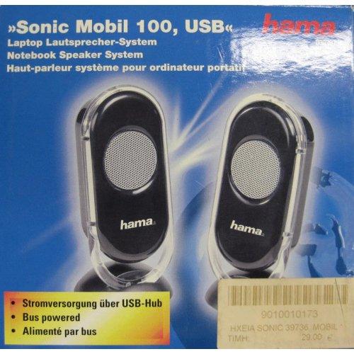 Hama ηχεία SONIC mobil 100 USB