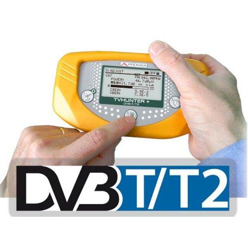 Πεδιόμετρο DVB-T2 PROMAX TVHUNTER+