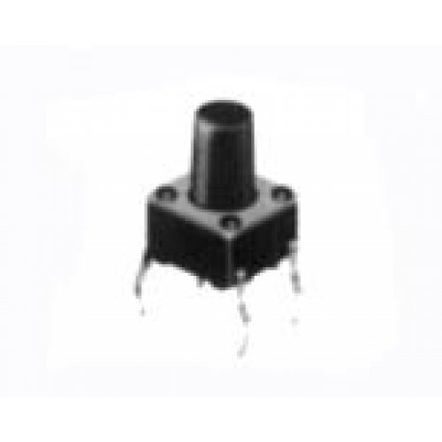 Tact switch 6x6x9.5mm 4pin 160gf 1105CCF