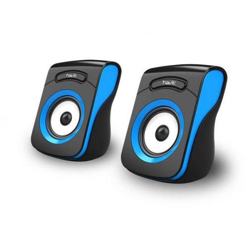 Ηχείο H/Y USB 2.0 2x3w μαύρο - μπλε HV-SK599 havit