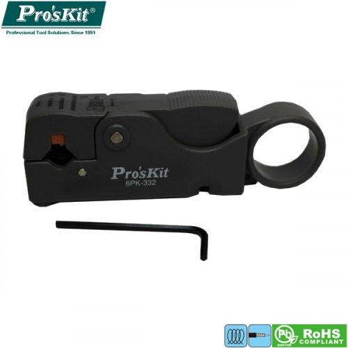 Απογυμνωτής περιστροφικός ομοαξονικών καλωδίων 6PK-332 Pro'sKit