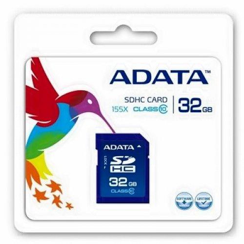Κάρτα μνήμης SDHC 32GB CLASS 10 ADATA