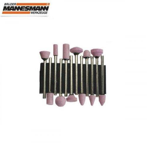 Πέτρες Λείανση σετ 12pcs για mini drill 92560 Mannesmann
