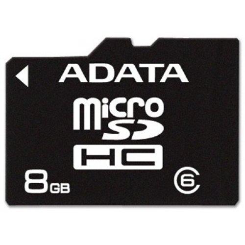 Κάρτα μνήμης SDHC 8GB MICRO CLASS 6 ADATA