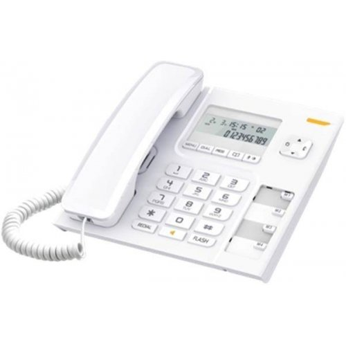 Τηλέφωνο σταθερό με αναγνώριση κλήσης λευκό T56 Alcatel