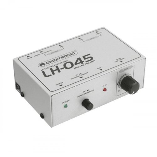 Προενισχυτής Μικροφώνου με phantom LH-045 OMNITRONIC