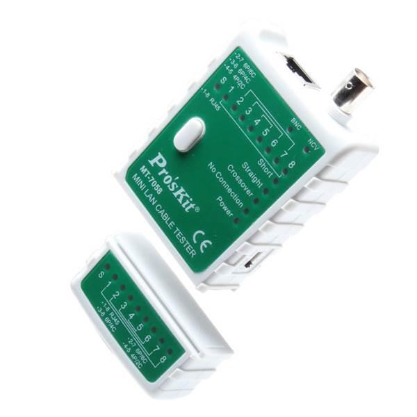 Tester καλωδίων LAN/BNC Mini MT-7058 Proskit