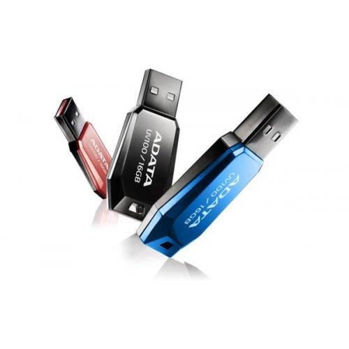 USB flash drive 8GB A-DATA UV100 μαύρο