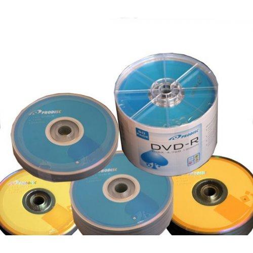 DVD-R PRODISC 4.7GB SLIM 16X CAKE BOX 100pcs