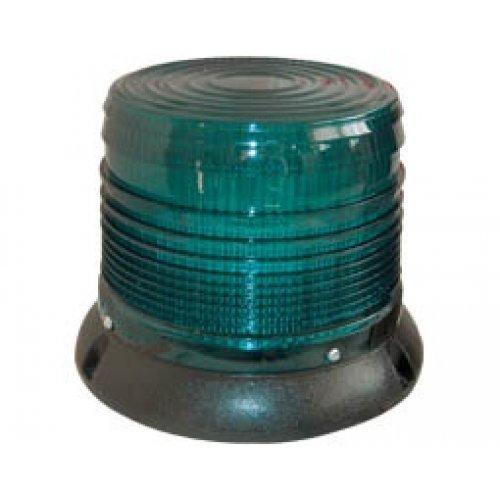 Φάρος μεσαίος 12VDC πράσινος περιστρεφόμενος 150X165mm  (C-400) LTD1161