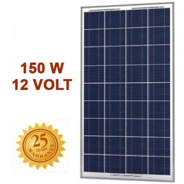 Πάνελ φωτοβολταϊκό 150Wp 12V 36cells SRM-150P Invictus