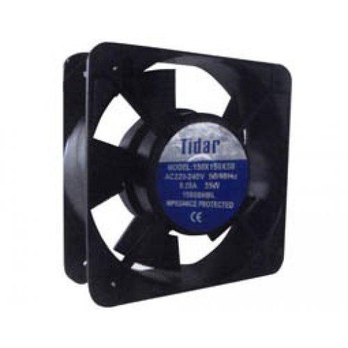 Ανεμιστήρας 230V AC 150x150x50mm RQA15050-HBL2 Ρουλεμάν TIDAR