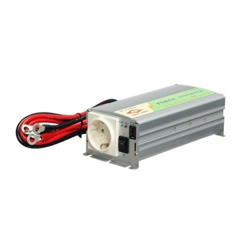Inverter 12V->230V 600W τροποποιημένου ημιτόνου MWI-600/GP12-600B Genious Power