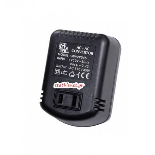 Converter 230V->110V AC 50VA MW2P045 Mιnwa