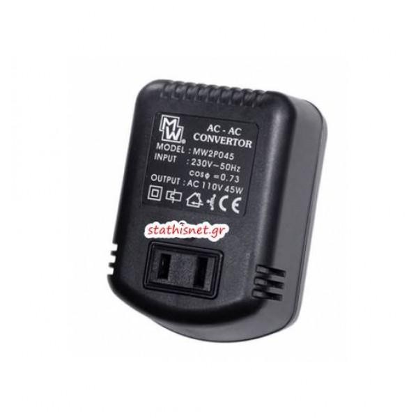 Converter 230V->110V AC 45VA MW2P045 Mιnwa