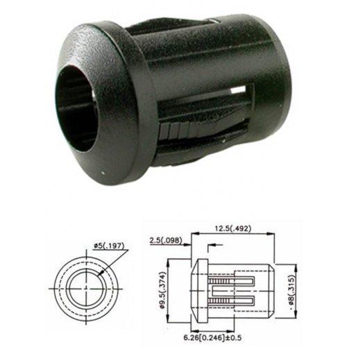 Βάση led 5mm μονή RTF-5010
