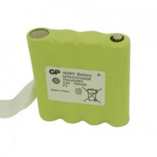 Μπαταρία pack 4 pcs x 1.2V AAAA 4.8V 800mAh Ni-Cd με λαμάκι Code S Fujitron