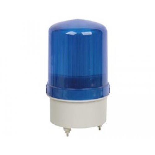 Φάρος μικρός 12VDC μπλέ περιστρεφόμενος 116X95mm  (C-1101) LTD1121