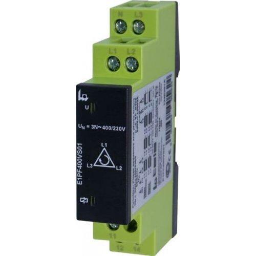 Relay επιτήρησης δικτύου ( διαδοχή φάσεων και απώλεια φάσης ) τριφάσικος ( 3Φ ) E1PF400VS01 Tele