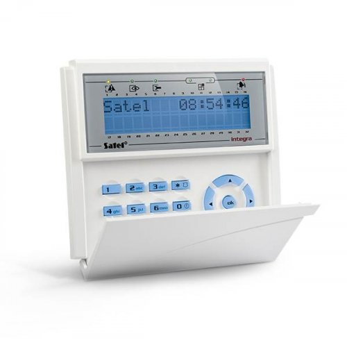Satel πληκτρολόγιο LCD INT-KLCD BL