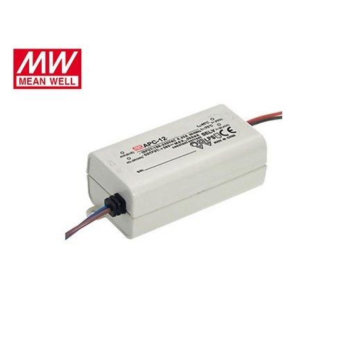 Τροφοδοτικό Led 230V IN -> OUT 9-36VDC 12W 350mA IP42 APC12-350 Mean Well