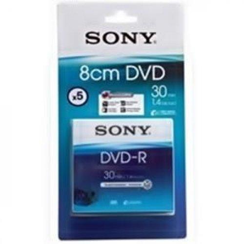 DVD-R Sony 1.4GB 30min 8CM Cameras