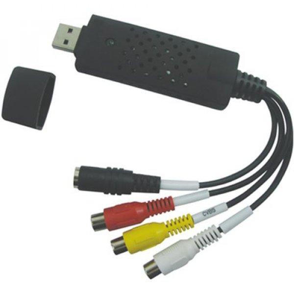 Καλώδιο Μετατροπέας USB2.0 to Video/Audio Capture VE459