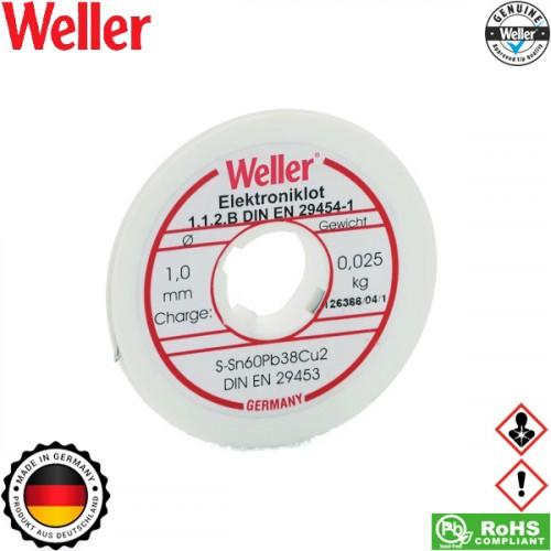 Κόλληση 25g EL-60/40-25 1mm 54002999 Weller