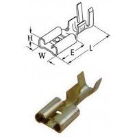 Ακροδέκτης γυμνός συρταρωτός θηλυκός 6.3-2.5mm (804402-51BL0) CYI