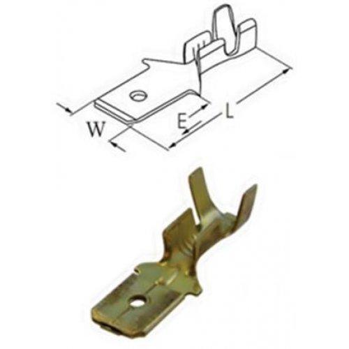 Ακροδέκτης γυμνός συρταρωτός αρσενικός 6.3-2.5mm (1301412) MTA