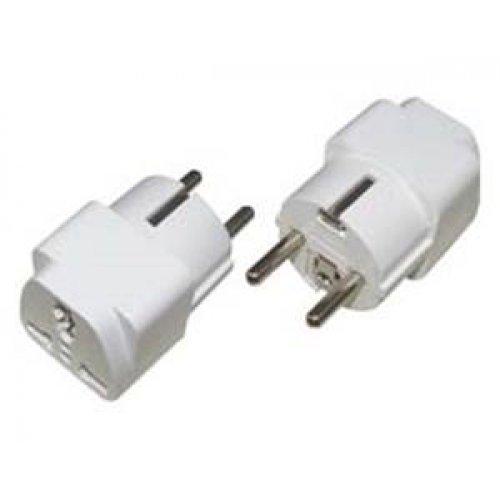 Πολυαντάπτορας 230V 1 σούκο -> EU 2-pin οutlet EP-A112