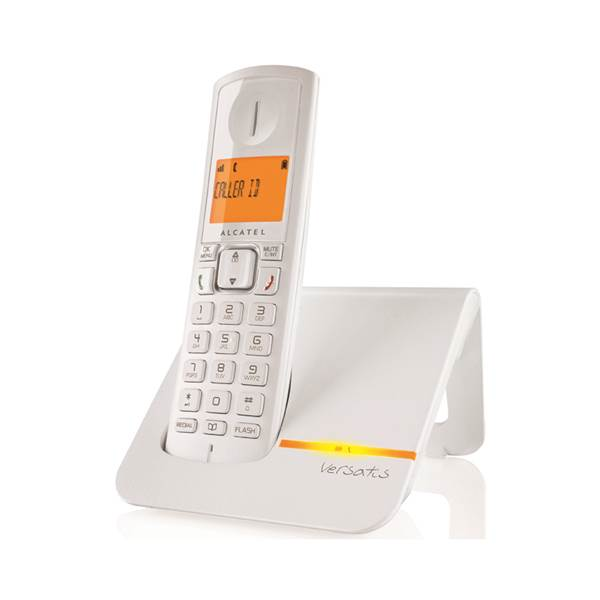 Τηλέφωνο ασύρματο λευκό Versatis F200 Alcatel