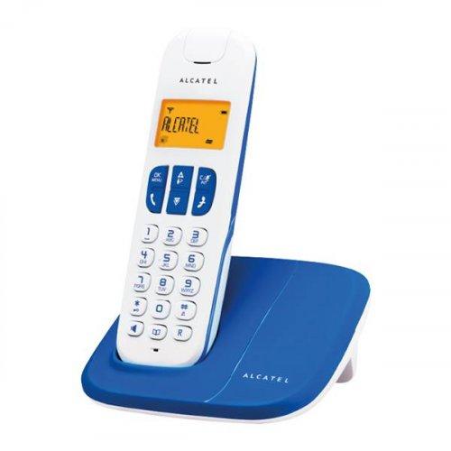 Τηλέφωνο ασύρματο μπλε Delta 180 Alcatel