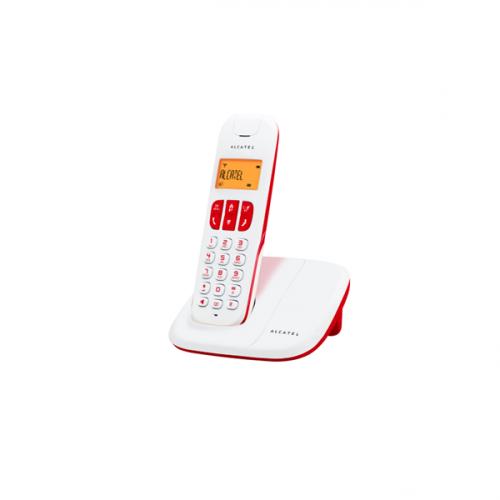 Τηλέφωνο ασύρματο κόκκινο Delta 180 Alcatel