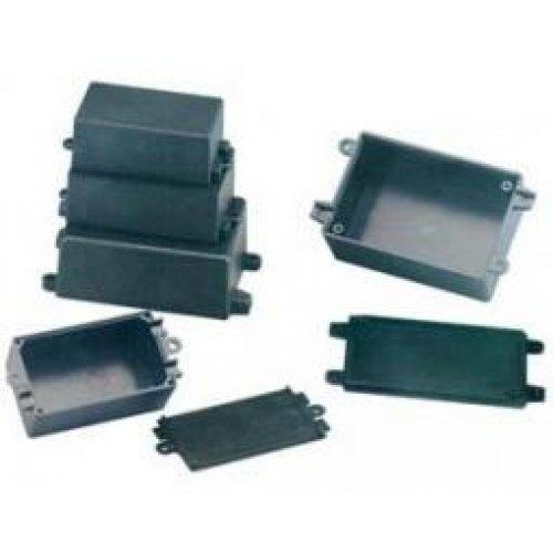 Κουτί πλαστικό IP65 72x44x22mm μαύρο G1015 Gainta