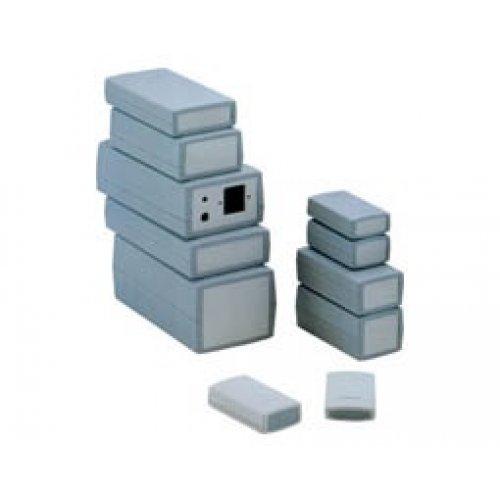 Κουτί πλαστικό IP54 190x100x80mm γκρί με αποσπώμενη πρόσοψη G459 Gainta