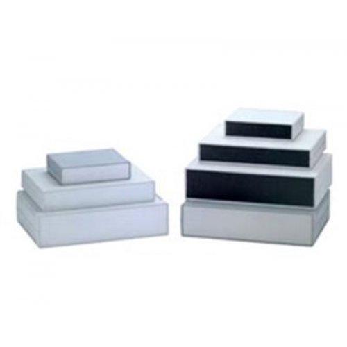 Κουτί πλαστικό IP54 225x165x40mm γκρι με αποσπώμενη πρόσοψη G747 Gainta