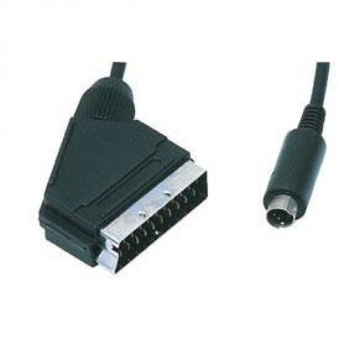 Καλώδιο GSV-7660G scart -> S-VHS αρσενικό 1.5m Prolink
