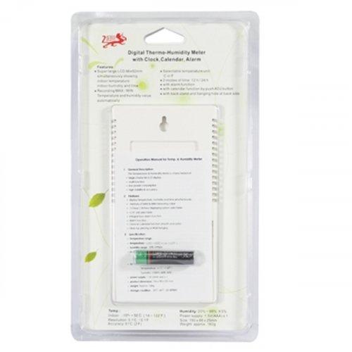 Θερμόμετρο - υγρόμετρο ψηφιακό με ημερολόγιο και ξυπνητήρι KT-903