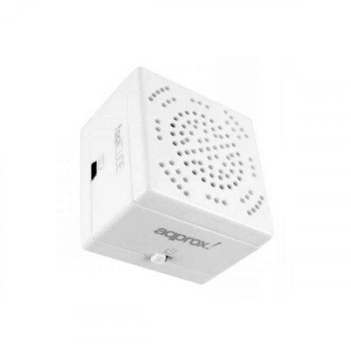Ηχείο H/Y 3.5mm feel cube λευκό APPSP11W Aqprox