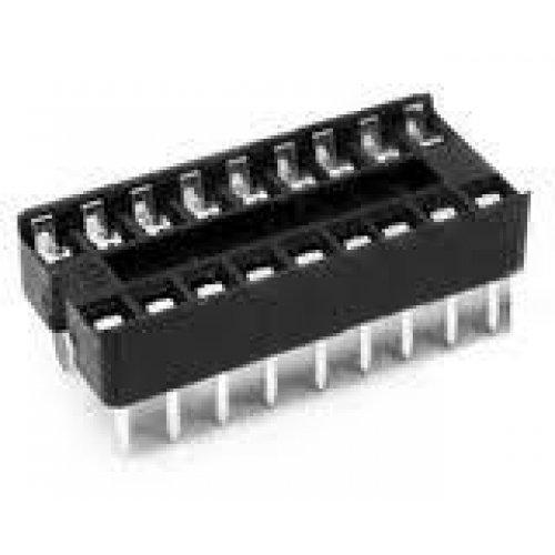 Βάση IC PCB DIP 18pin 7.62mm 2.54mm Στενή Απλή XINYA
