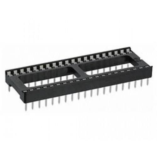 Βάση IC PCB DIP 24pin 15.24mm 2.54mm Απλή XINYA
