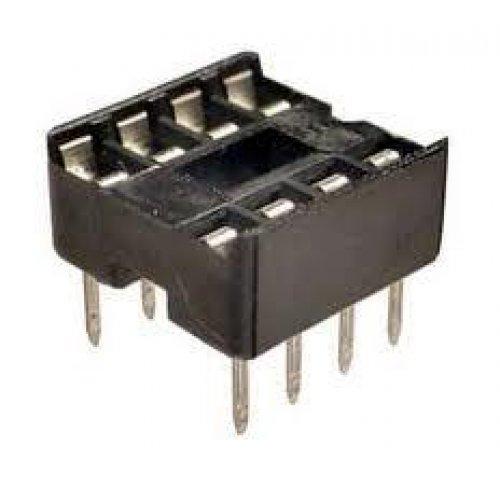 Βάση IC PCB DIP 8pin 7.62mm 2.54mm Στενή Απλή XINYA