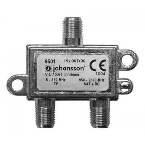 Μίκτης VHF+UHF - SAT DC 9501 Johansson