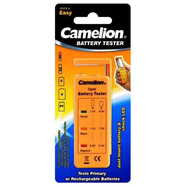 Tester μπαταριών ΒΤ-0503 camelion